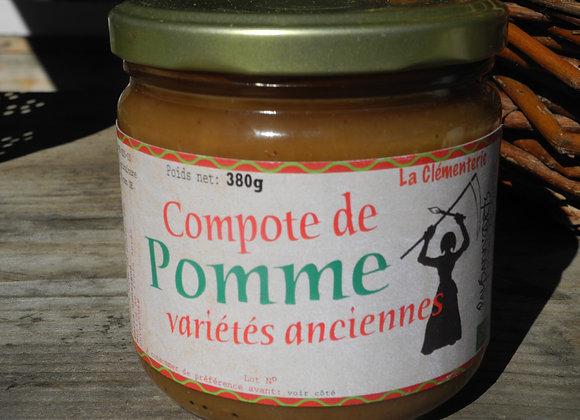 Compote pomme variétés anciennes
