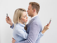 Photo - Man and Woman Hugging - Distract