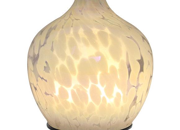 MadeByZen - NITRUM MERCURA - White Blown Glass Aroma Diffuser
