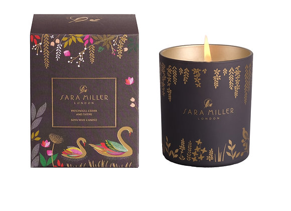 SARA MILLER - PATCHOULI, CEDAR & THYME SCENTED CANDLE