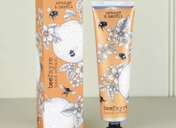 Beefayre Hand Cream - Orange & Neroli  Hand Cream 100ml