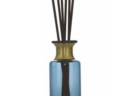 Ashleigh & Burwood Heritage Diffuser Blue Vessel & Reeds