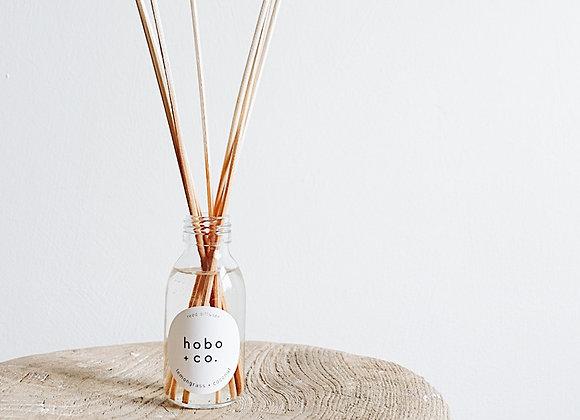 Hobo + Co - Lemongrass + Coconut Reed Diffuser