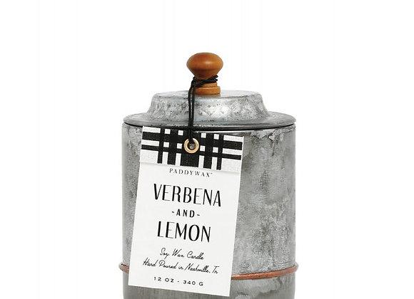 Paddywax Homestead 12oz Candle - Verbena & Lemon