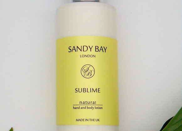 Sandy Bay London Retreat Collection Hand & Body Lotion - Sublime