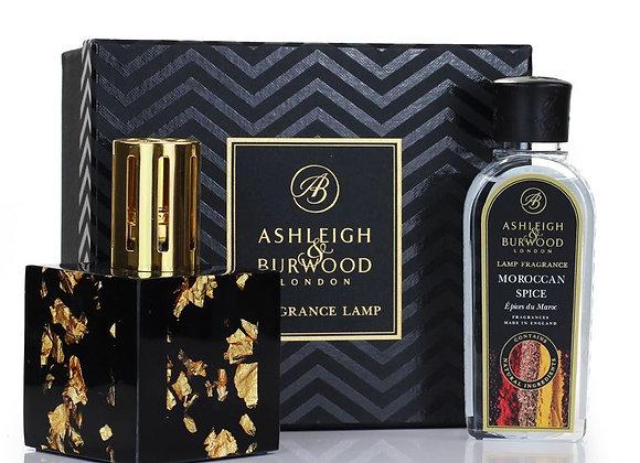 Ashleigh & Burwood Fragrance Lamp Set - Midnight Gold & Moroccan Spice