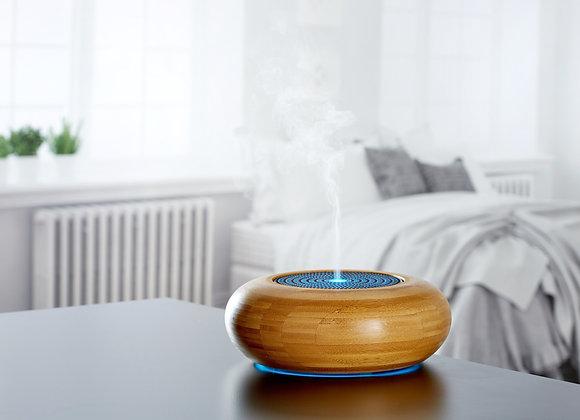 MadeByZen ARRAN Bamboo Diffuser - Aromatherapy, Ultrasonic, Mode Light