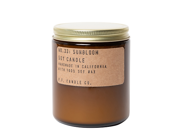 P.F. CANDLE CO. NO. 21 Golden Coast Standard Soy Jar Candle