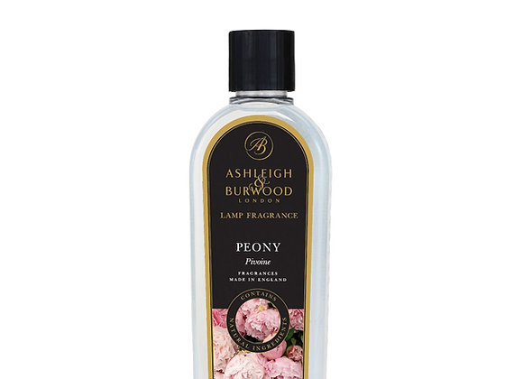 Ashleigh & Burwood Fragrance Lamp Oil - Peony 500ml