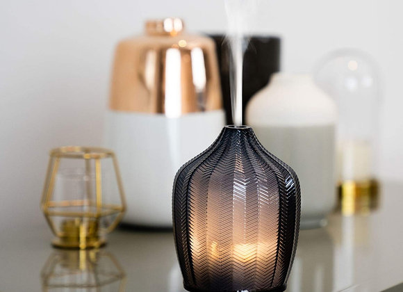 MadeByZen - NITRUM FERN  - Grey Glass Ultrasonic Aroma Diffuser