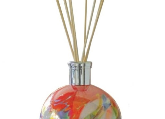 Mouth-Blown Glass Red Reed Diffuser - Choice of fragrance