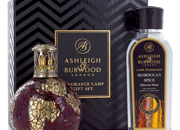 Ashleigh & Burwood Fragrance Lamp Set - Dragon's Eye & Moroccan Spice