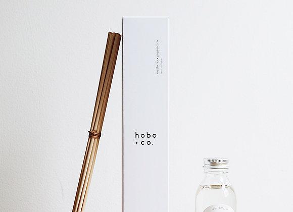 Hobo + Co  - Raspberry + Peppercorn Reed Diffuser