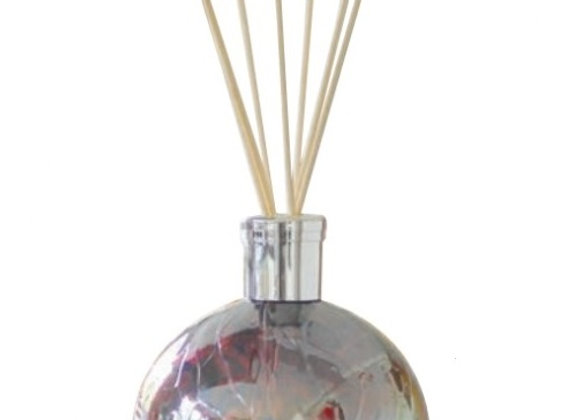 Mouth-Blown Glass Plum Reed Diffuser - Choice of fragrance