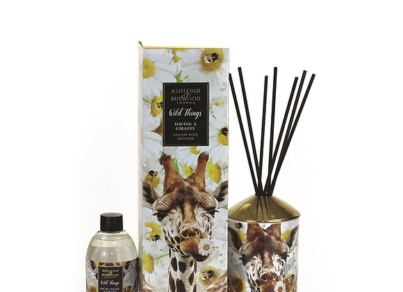 Ashleigh & Burwood Wild Things Diffuser -You're Having A Giraffe -Orange Blossom