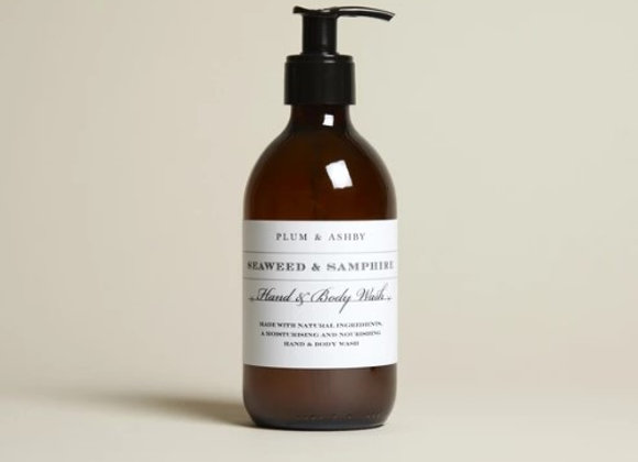 Plum & Ashby Seaweed & Samphire Hand & Body Wash 300ml
