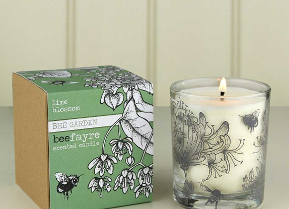 Beefayre Candles - Beefayre Lime Blossom Large Scented Candle