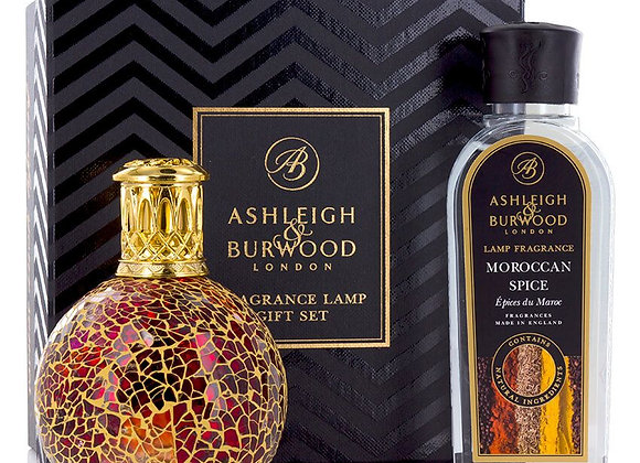 Ashleigh & Burwood Fragrance Lamp Set - Tahitian Sunset & Moroccan