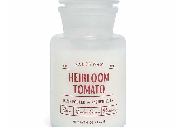Paddywax Apothecary Farmouse 8oz Glass Candle - Heirloom Tomato