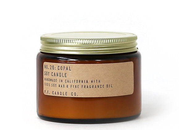 P.F. CANDLE CO. NO.26 Copal Large Soy Jar Candle