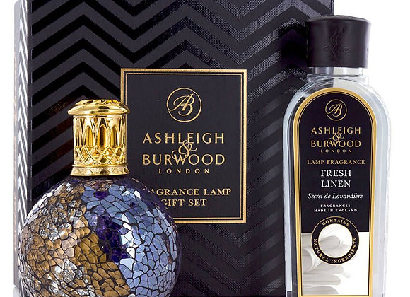 Ashleigh & Burwood Fragrance Lamp Set -  Masquerade & Fresh Linen