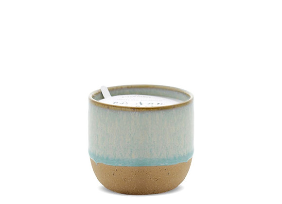 Paddywax Kin 6oz Mint Green reactive dipped glaze - Matcha Tea + Bergamot