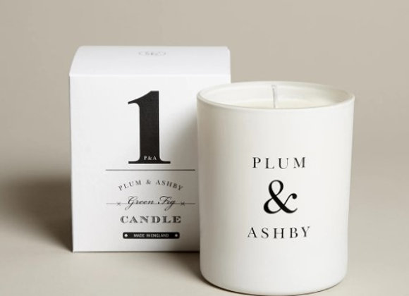 Plum & Ashby  Green Fig Candle 60hrs