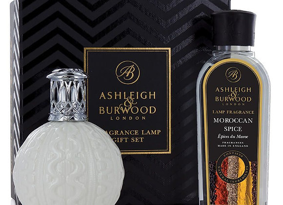 Ashleigh & Burwood Fragrance Lamp Set - Cosy Knit &  Moroccan Spice