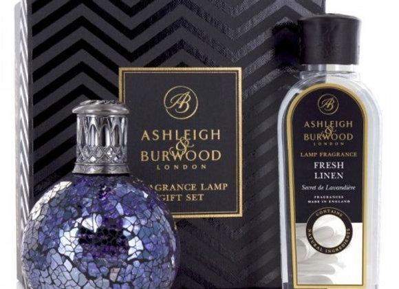 Ashleigh & Burwood Fragrance Lamp Set - All Because & Fresh Linen