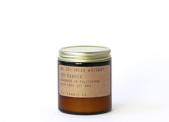 P.F. CANDLE CO. NO. 30 Irish Whiskey Mini Soy Jar Candle   £15.00 - £24.00
