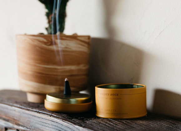 P.F. CANDLE CO. Golden Hour Incense Cones