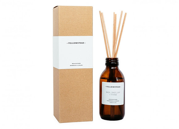 Fellowstead Basil, Sage Leaf + Thyme Essential Oil Diffuser