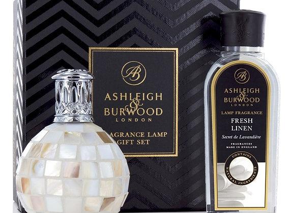 Ashleigh & Burwood Fragrance Lamp Set -  Arctic Tundra & Fresh Linen