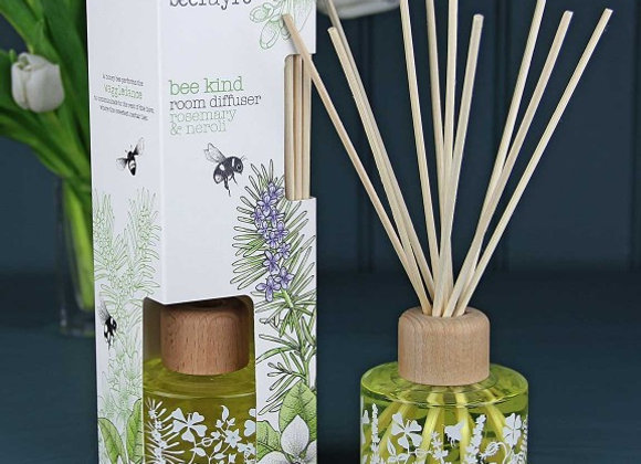 Beefayre Diffuser - Bee Kind Rosemary & Neroli Reed Large Diffuser 120ml