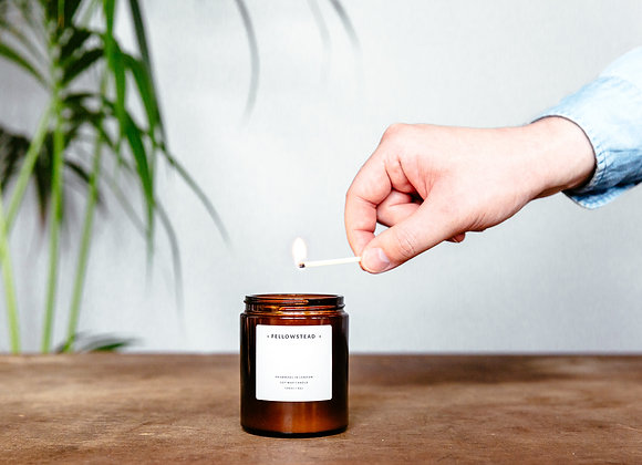 Fellowstead Mint Leaf & Tobacco Botanical Candle
