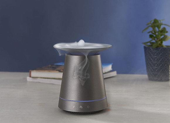 MadeByZen - Kasumi Grey - Aroma Diffuser with cascading mist & mood lighting