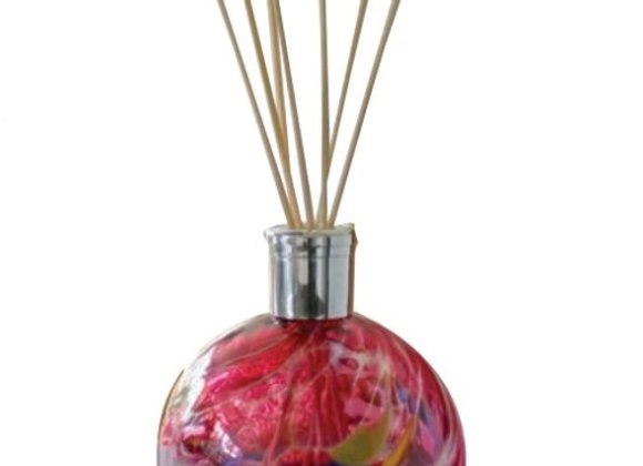 Mouth-Blown Glass Amethyst Reed Diffuser - Choice of fragrance