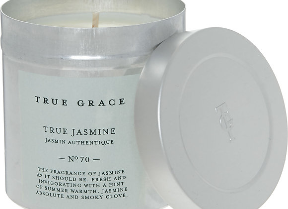 TRUE GRACE True Jasmine No 70 Tin Candle