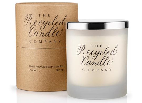 The Recycled Candle Company - Lavender & Rock Salt scented candle 30cl