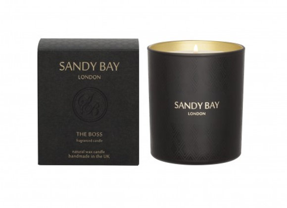 Sandy Bay London Gentlemans Club - The Boss Luxury Scented Candle