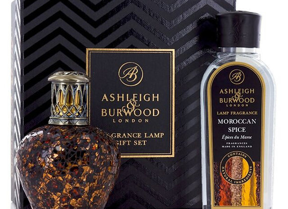Ashleigh & Burwood Fragrance Lamp Set - African Queen & Moroccan