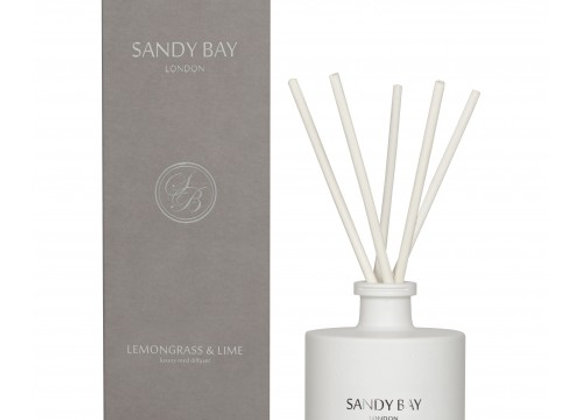 Sandy Bay London Lemongrass & Lime Luxury Reed Diffuser
