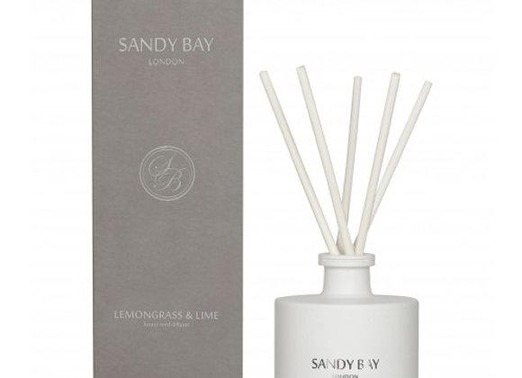 Sandy Bay London Lemongrass & Lime Luxury Reed Diffuser