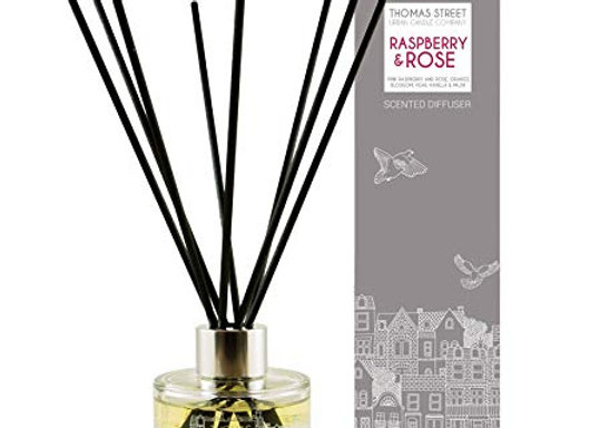 Thomas Street Urban Candle Co - Raspberry & Rose Scented Diffuser