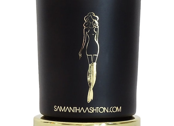 SAMANTHA ASHTON - PINK CHAMPAGNE LUXURY WOOD WICK CANDLE