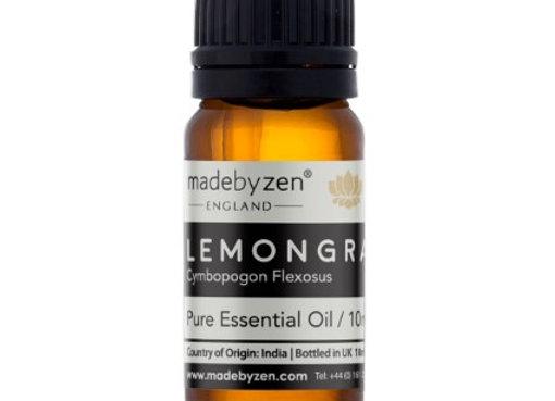 Madebyzen LEMONGRASS Pure Essential Oil