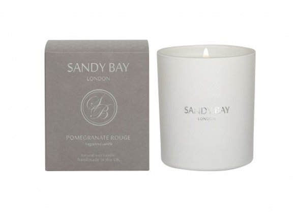 Sandy Bay London Pomegranate Rouge Scented Candle