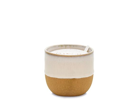 Paddywax Kin 6oz Snow reactive dipped glaze - Jasmine + Bamboo