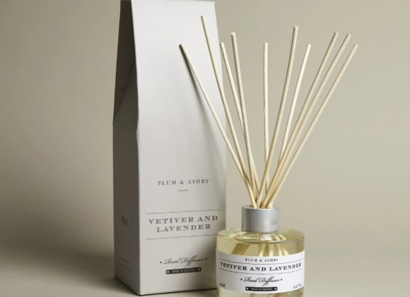 Plum & Ashby Vetiver and Lavender Diffuser 120ml