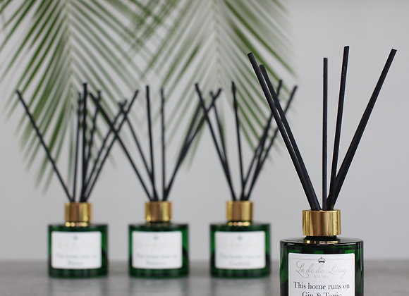 La de da Living - POP Reeds THIS HOME RUNS ON GIN & TONIC Reed Diffuser
